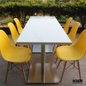 Modern Design Solid Surface Artificial Stone Dining Tables pictures & photos