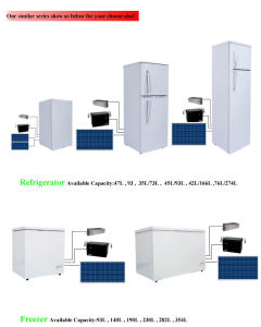 Most Popular DC Solar Freezer for Home Using 230L pictures & photos