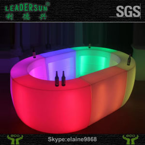 Waterproof Plastic Tea Table Ldx-Z25 Illuminated Modern LED Bar Counter