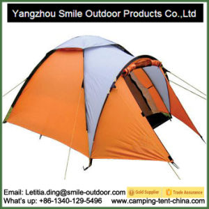 Hot Popular 3-4 Persons Outdoor Camping Tent pictures & photos