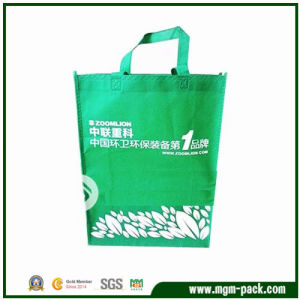 China Promotional Cheap Green Non Woven Shopping Bag pictures & photos