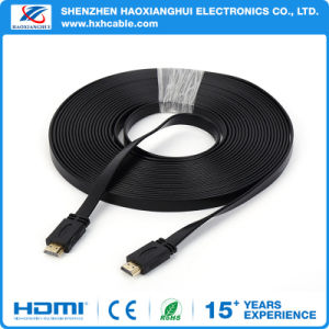 Wholesale Long Flat HDMI Cable Male to Male Support 4k pictures & photos