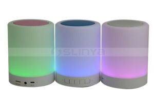 Portable Mini Smart LED bulb Light Wireless Bluetooth Lamp Speaker with Handle pictures & photos