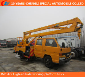 Jmc 4X2 High-Altitude Working Platform Truck pictures & photos