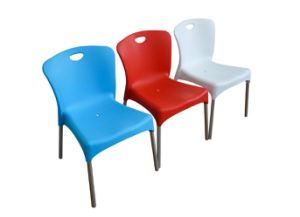 Outdoor Plastic Stackable Chair (YCD-42) pictures & photos
