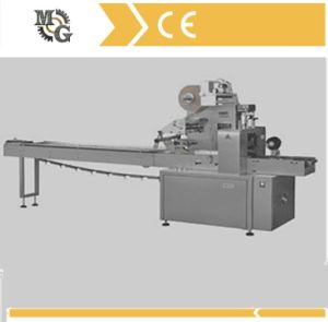 Horizontal Flow Wrapping Machine for Disposable Fork and Knife, pictures & photos