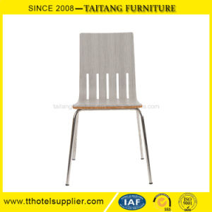 School Canteen Dining Chair Stainless Steel Legs pictures & photos