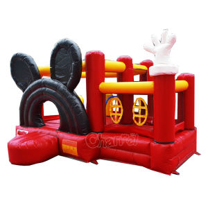 Mickey Mini Inflatable Jumping Castle/Inflatable Moonwalk Castle Chb244 pictures & photos