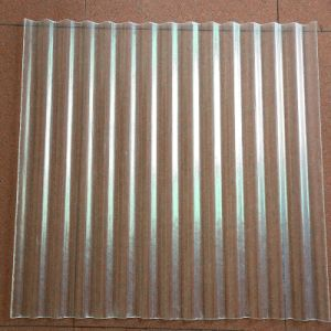 Construction 0.75mm Polycarbonate Corrugated Sheet pictures & photos