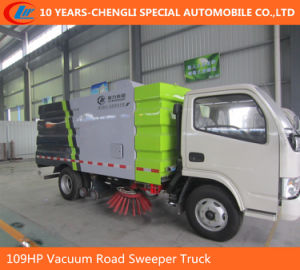 6wheels Road Sweeper Truck 95HP 2cbm Road Cleaning Truck pictures & photos