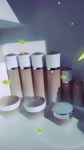 Qf-005 The Queen of Quality Cosmetic Bottle with Plastic Materials pictures & photos