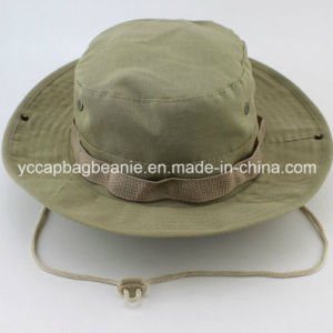 Heavy Washed Cotton Canvas Leisure Fisherman Bucket Hat pictures & photos