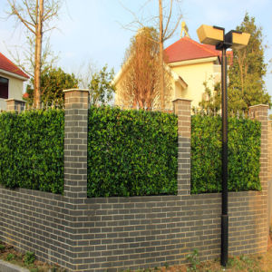 Garden Wall Decorative Artificial Leaf Fence pictures & photos