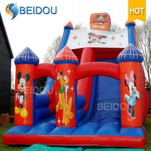 Durable Popular Mickey Mouse Jumping Frozen Bouncy Castle Inflatable Bouncer