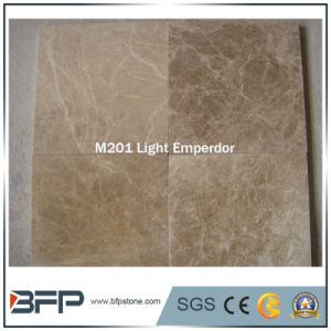 Light Emperdor Natural Marble for Flooring Tile, Wall Cladding Tile pictures & photos
