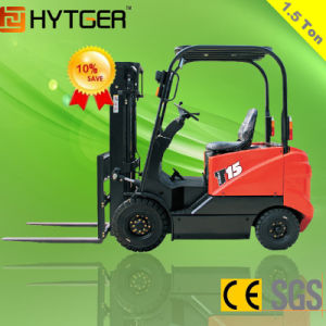 1.5ton Cheap Electric Forklift Truck (CPD15FJ) pictures & photos