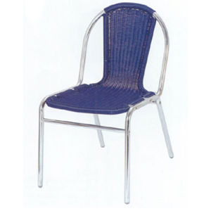 Promotional Commerical Seating Aluminum Wicker Chair DC-06207 pictures & photos