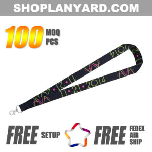Sublimation Neck Strap with Special Metal Clip (DSL25AXA-4)