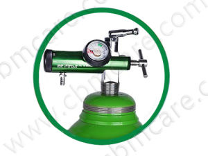 5L Steel Oxygen Bottles with Cylinder Caps pictures & photos