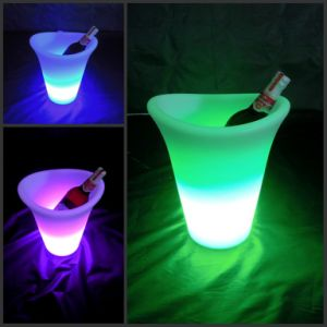 Bar Furniture Waterproof LED Ice Bucket (H001) pictures & photos