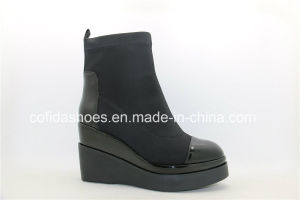 New Fashion Casual Wedge Heel Women Boots pictures & photos
