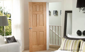 Entrance Natural Grains Interior Wooden Door Prices pictures & photos