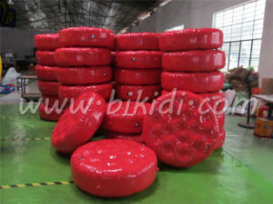 Air Tight Inflatable Water Park Floating Mat/Water Park Toys D3062 pictures & photos