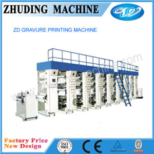 High Speed 8 Colors Gravurel Printing Machine pictures & photos