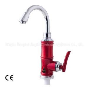 Kbl-6e-7 Red Electric Instant Heating Faucet Kitchen Faucet pictures & photos