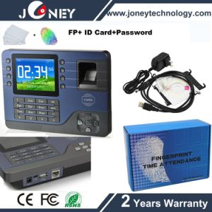 Biometric Fingerprint Time Attendance System with RFID Card Reader pictures & photos