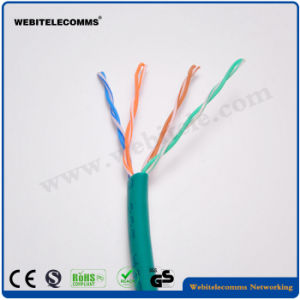 U/UTP Unshielded Cat 5e Twisted 4 Pairs Installation Cable pictures & photos
