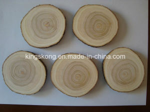Custom Boutique Tree Ring Heated Beer Wooden Coaster pictures & photos