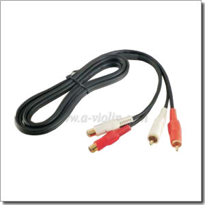1-50m 4.0*8.0 Male-Female Spiral RCA Cable Black a/V Cable (AL-AVC015Y) pictures & photos