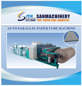 Parallel Paper Tube Making Machine with Inline Cutting System pictures & photos
