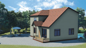 Fast and Installation Modular Building/Mobile/Prefab/Prefabricated Steel House pictures & photos