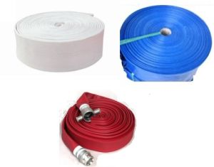 Blue/Red/ White PVC Layflat Hose/PVC Fire Hose pictures & photos