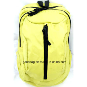 Polyester Fabric Bag for School Student Laptop Hiking Travel Backpack (GB#20082) pictures & photos