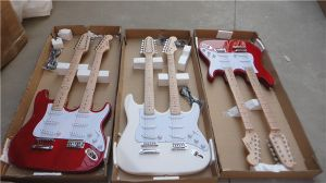 Double Neck Colour All Solid Body Electric Guitar for Sale pictures & photos