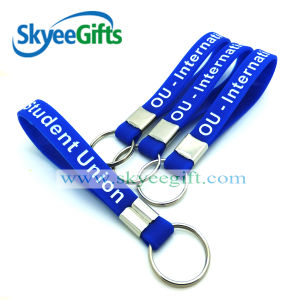 Hand Bracelet Silicone Wristband Keychain pictures & photos