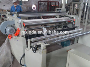 Fully Automatic High Speed Plastic Film Slitting and Rewinding Machine