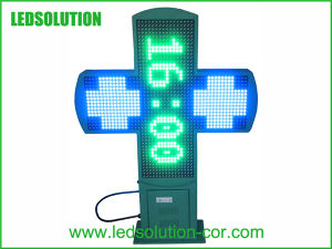 P16 Outdoor LED Pharmacy Cross Screen pictures & photos