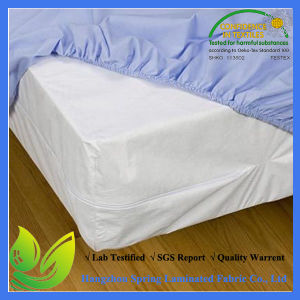 Best Bed Bug Proof Polycotton Zipped Mattress Protector Cover pictures & photos
