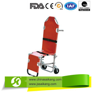 Aluminum Alloy Stair Stretcher for First-Aid (CE/FDA/ISO) pictures & photos