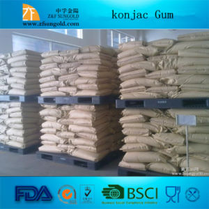 High Quality High Transparant Food Grade Konjac Gum pictures & photos
