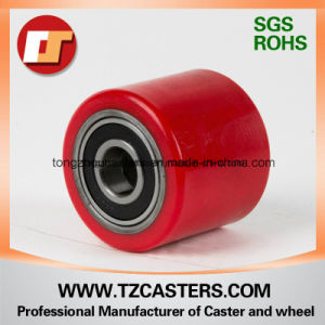 Polyurethane Roller with Cast Iron Rim 74*93 pictures & photos