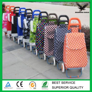 Four Wheel Foldable Trolley Shopping Bags Wholesale pictures & photos