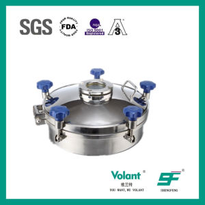 Sanitary Stainless Steel Pressure Manhole Sf9000201 pictures & photos