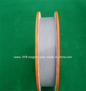 Glass Covered and Film Wrapped Rectangular Copper Wire