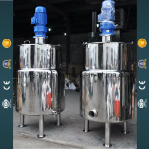 Stainless Steel Paint Making Mixing Tank pictures & photos
