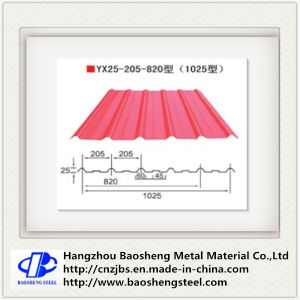 Corrugated Roofing Used Prepainted Steel Sheet for Roof pictures & photos